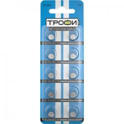 Батарейка щелочная (алкалиновая) G1 (364) LR621 LR60 (200/1600/153600) (часовая) | C0035050 | ТРОФИ