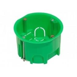 Коробка установочная 68х40 металлические лапки, с саморезами (для полых стен) | КУ1204 | HEGEL