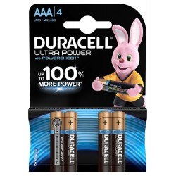 Батарейки Duracell LR03-4BL Ultra | Б0038762 | Duracell