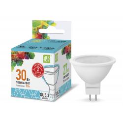 Лампа светодиодная LED-JCDR-standard 3Вт 230В GU5.3 4000К 270Лм   4690612001418   ASD