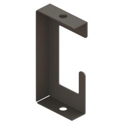 Скоба-держатель полосы с болтом, медь | ND2312CU | DKC