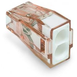 Клемма 2-проводная соединители PUSH WIRE для распред коробок, ож. проводников до 4 мм (уп/100шт) | 773-602 | WAGO