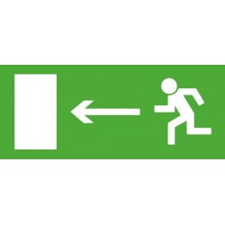 """Светильник ЭЗ """"Направление к эвакуационному выходу налево"""" (125х250)   1006125250   АСТЗ"""