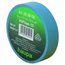 Изолента ПВХ, цвет синий, шир.19 мм, длина 20 м, d 74 мм | 263850 | Haupa