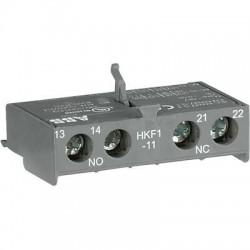 Фронтальные доп.контакты 1НО+1НЗ HKF1-11 для автоматов типа MS116   1SAM201901R1001   ABB