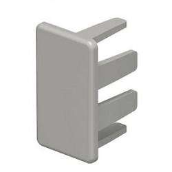 Торцевая заглушка кабельного канала WDK 15x30 мм (ПВХ,серый) (WDK HE15030GR) | 6158714 | OBO Bettermann
