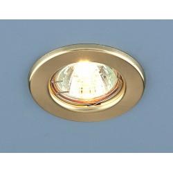 9210 MR16 SGD золото матовое светильник встр. | a030077 | Elektrostandard