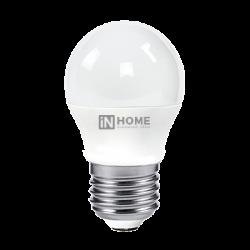 Лампа светодиодная LED-ШАР-VC 4Вт 230В Е27 4000К 360Лм | 4690612030593 | IN HOME