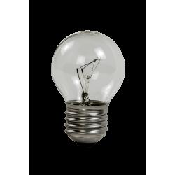 Лампа накаливания ШАР P45 60Вт 230В Е27 прозрачный 630Лм   4607177994994   ASD