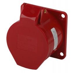 Розетка стационарная внутренняя 415 3Р+РЕ+N 16А 380В IP44   Б0032869   ЭРА