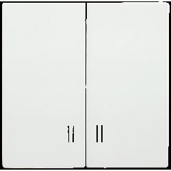 НС-1-1-ББ Накладка к светорегулятору BOLERO белый | ENB10-D-K01 | IEK