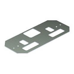 Накладка 163x72,5 мм (сталь,светло-серый) (AP MT2 2) | 7406920 | OBO Bettermann