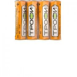 Батарейка солевая (ЭП) R6-4S (60/1200/28800) (AA) | C0033715 | ТРОФИ