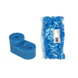 Изолятор угловой синий    SQ0810-0005   TDM