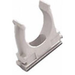 Клипса д/труб 40 мм (100 шт)серая | 17-0220 | Росдюбель