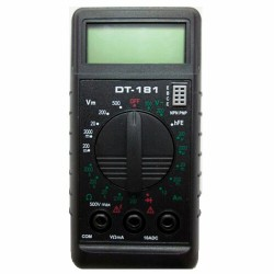 Мультиметр DT 181 | 61/10/511 | РЕСАНТА