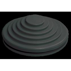 Сальник d=20мм (Dотв.бокса 22мм) черный IEK | YSA40-20-22-68-K02 | IEK