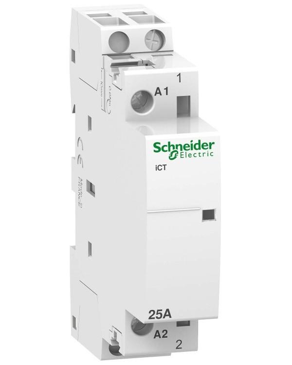 МОДУЛЬНЫЙ КОНТАКТОР iCT25A 1НО 220В АС 50ГЦ | A9C20531 | Schneider Electric