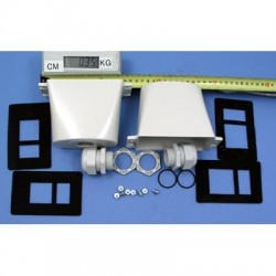 Кожух IP54, R3/4 для фильтра ACS550-IF31-3/IF41-3 диаметр вводад ля кабеля 18-25 мм   64154923   ABB