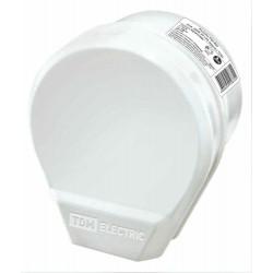 Разъём РШ-ВШ 32А 250В 2Р+РЕ ОУ белый | SQ1812-0003 | TDM
