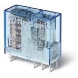 Миниатюрное универсальное электромеханическое реле; монтаж на печатную плату или в розетку; выводы с шагом 5мм; 2CO 8A; к | 405280240000 | Finder