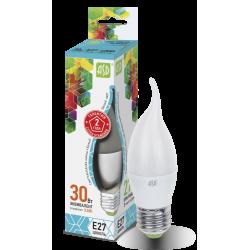 Лампа светодиодная LED-СВЕЧА НА ВЕТРУ-standard 3.5Вт 230В Е27 4000К 320Лм   4690612004761   ASD