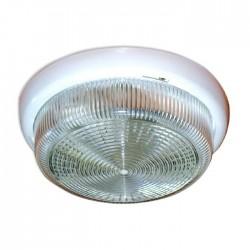 Светильник НБО Раунд 200 23-60-001 60Вт ЛН/КЛЛ/LED Е27 IP44 корпус белый | 1005500564 | Элетех