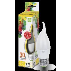 Лампа светодиодная LED-СВЕЧА НА ВЕТРУ-standard 3.5Вт 230В Е27 3000К 320Лм   4690612004754   ASD