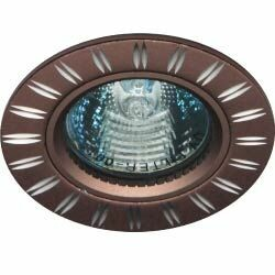 Светильник точечный потолочный GS-M393BR MR16 50W G5.3 коричневый | 28219 | FERON
