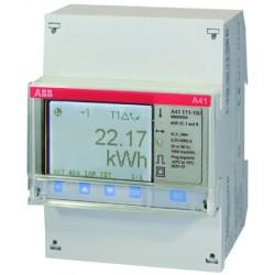 Счетчик 1-фазный активной энергии,1-тарифный,кл. точности 1,прямого вкл. 5(80)А, имп. выход,тип A41 111-200 | 2CMA100082R1000 | ABB