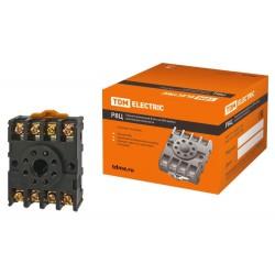 Разьем Р8Ц - цокольный 8-pin на DIN-рейку/плоскость | SQ1503-0019 | TDM
