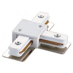 UBX-Q121 K31 WHITE 1 POLYBAG Соединитель для шинопроводов Т-образный. Однофазный. Цвет белый. | 10578 | Volpe