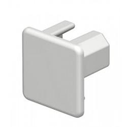 Торцевая заглушка кабельного канала WDK 20x20 мм (ПВХ,светло-серый) (WDK HE20020LGR) | 6183611 | OBO Bettermann