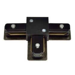 UBX-Q121 K31 BLACK 1 POLYBAG Соединитель для шинопроводов Т-образный Однофазный. Черный. | UL-00001281 | Volpe