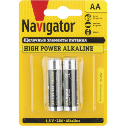 Элемент питания NBT-NE-LR6-BP2 | 94752 | Navigator