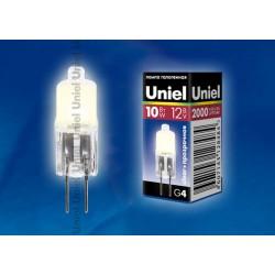 JC-12/10/G4 CL лампа галогенная | 00480 | Uniel