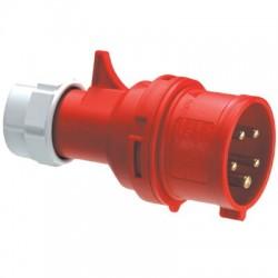 Вилка кабельная IP44 16A 2P+E 230V | DISP020163 | DKC