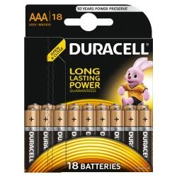 Элементы питания Duracell LR03-18BL BASIC | Б0014449 | Duracell