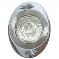 Светильник декоративный встр DL250 MR16 50W G5.3 титан-хром/ TN-CH | 17908 | Feron