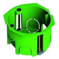 Коробка установочная 68х45 пластиковые лапки, с саморезами | КУ1201-01-И | HEGEL