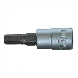 """Насадка для торцевых ключей шестигранник 1/4"""", шз 5 мм   110749   Haupa"""
