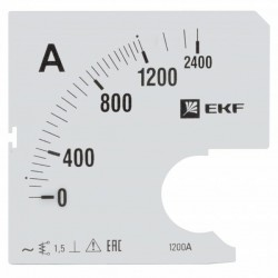 Шкала сменная для A721 1200/5А-1,5 PROxima | s-a721-1200 | EKF