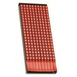 Табличка полужесткая. Установка в держатель. ПВХ-0,5. Металлик | TAS2715M | DKC