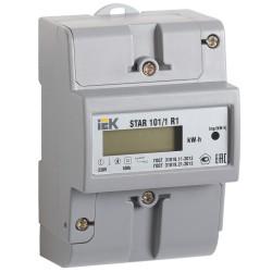 Счетчик эл. энергии однофазный STAR 101/1 R1-5(60)Э   CCE-1R1-1-02-1   IEK
