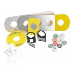 Колпачок с текстом для кнопок с подсветкой и ламп KTC8-9015|1SFA616908R9015| ABB
