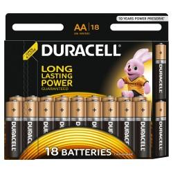 Элемент питания Duracell LR6-18BL BASIC | Б0014448 | Duracell