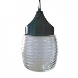 Светильник 120 НСП 03-60-001 Бочонок 60Вт E27 IP53 корпус пластик черн ГУ | 1005550238 | Элетех