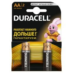 Элемент питания Duracell LR6-2BL BASIC | Б0026814 | Duracell