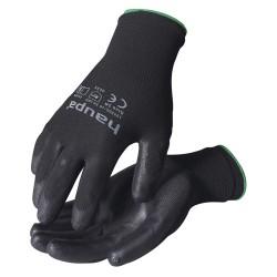 Перчатки с полиуретановым покрытием, размер 10, черные | 120300/10 | Haupa