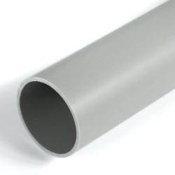 Труба жесткая ПВХ 2-х метровая серая д16 (100м/уп) Строитель